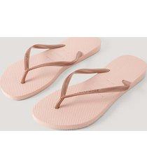 havaianas havaianas slim flip flop - pink