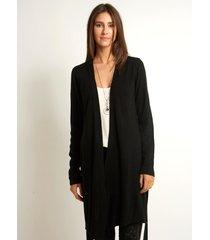 casaco le lis blanc fran medio ii tricot preto feminino (preto, gg)