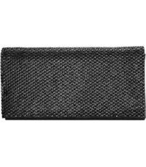 nina zora crystal embellished clutch