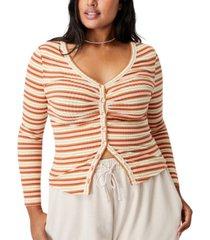 trendy plus size renee long sleeve cardigan