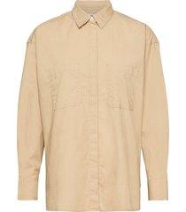 eunice utility shirt safari långärmad skjorta beige levi´s women