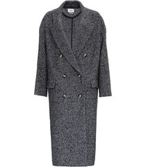 isabel marant étoile ojima double-breasted coat in tweed