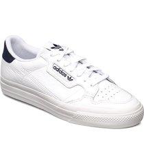continental vulc låga sneakers vit adidas originals