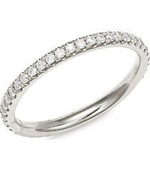 eternity lady 14k white gold, & diamond ring