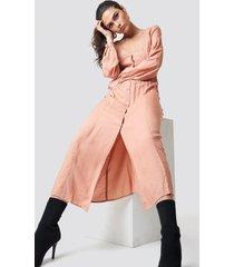 sparkz rosemary maxi dress - pink,nude