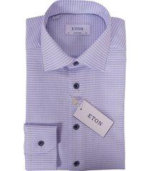 eton shirt met lange mouwen