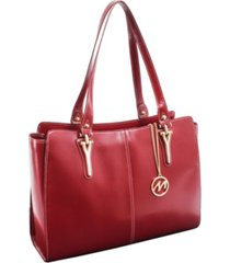 mcklein glenna ladies tote with tablet pocket