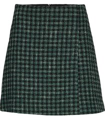 veljara kort kjol grön boss