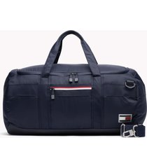 bolso azul tommy hilfiger athletic weekender