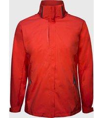 chaqueta 3 en 1 desmontable roja andesland