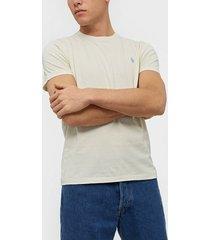 polo ralph lauren short sleeve t-shirt t-shirts & linnen cream