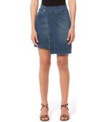 lola jeans high rise asymmetrical skirt