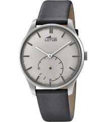 reloj retro gris lotus