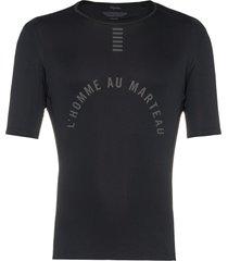 rapha pro team base layer t-shirt - black