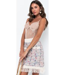 akira truth or dare sleeveless lace bodysuit