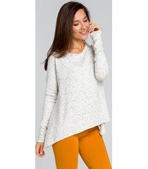 sweter luźny asymetryczny