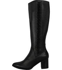 botas stivali antonia cuero negro