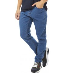 jeans slim spandex azul corona