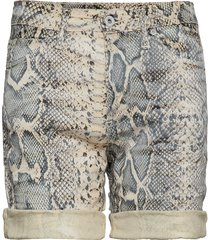 bermuda shorts snake bermudashorts shorts beige please jeans