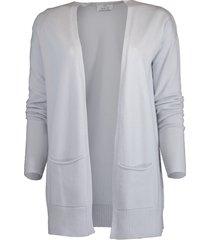 long cashmere cardigan