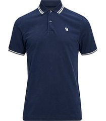 t-shirt dunda slim stripe polo s/s