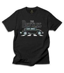 camiseta cool tees carros antigos the beetles masculina