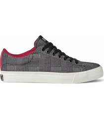 zapatilla negra pony broadway ox canvas