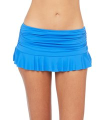 women's la blanca skirted bikini bottoms