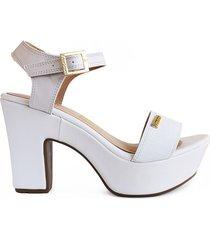 priceshoes calzado dama tacon 7 1/2 182405blanco mujer
