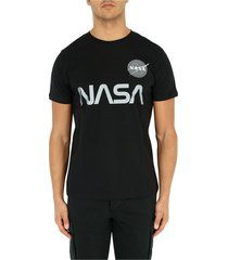 nasa reflective short sleeve t-shirt