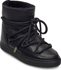 inuikii sneaker full leather shoes boots ankle boots ankle boot - flat svart inuikii