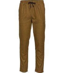 akbobby pants casual broek vrijetijdsbroek bruin anerkjendt