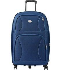 "maleta de viaje grande rock 28"" azul - explora"