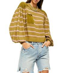 between the lines sweater