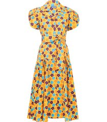 yellow retro blossom the glades dress