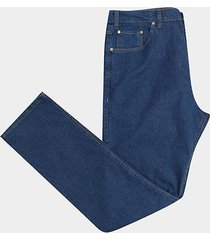 calça jeans slim plus size wrangler masculina - masculino