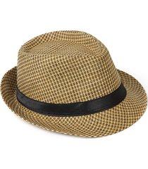 cappello di paglia di moda traspirante leggero leggero all'aperto del maglione del tessuto dell'annata degli uomini