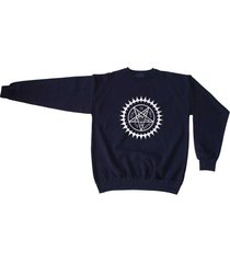 black butler logo anime manga otaku cosplay sweatshirt navy sweater