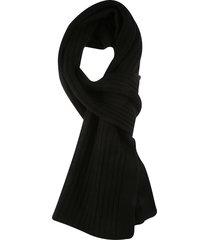 jil sander woven scarf