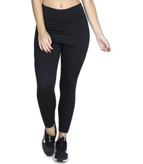 calça legging saia tapa bumbum bravaa modas 070 preto