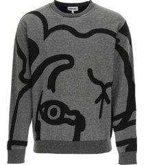 kenzo k-tiger sweater