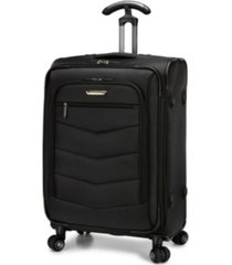 "traveler's choice silverwood 26"" check-in softside spinner"