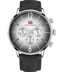 reloj análogo f0114gl-1 hombre negro