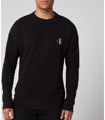 calvin klein men's sweatshirt - black - xl
