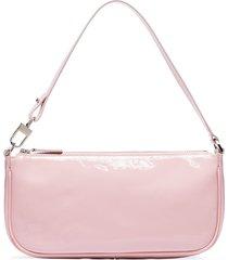 by far rachel patent-leather shoulder bag - pink