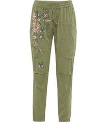 pantaloni stampati (verde) - rainbow