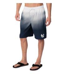 g-iii sports new york yankees men's horizon swim trunks