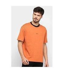 camiseta osklen double osklen reverse masculina