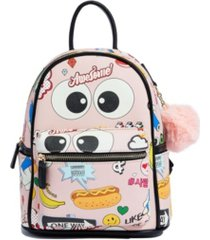 like dreams animated cartoon vegan leather backpack