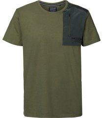 petrol industries shirt 6134 dusty army